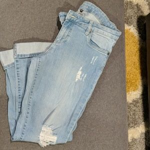 Kut fromthecloth distressed boyfriend jeans